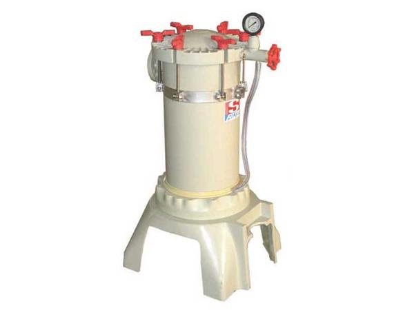 一体成型滤袋式高压精密化學藥液过滤器-不含化工泵