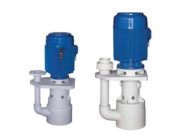 气泡槽内式塑料立式泵-耐酸碱腐蚀的化工泵