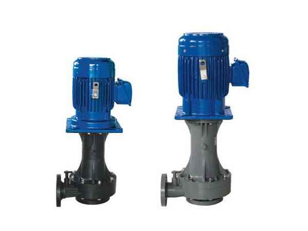 单叶轮,单/双轴封塑料立式泵-耐酸碱耐腐蚀化工泵