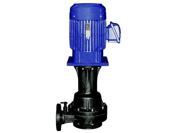 单/双叶轮, 单/双轴封塑料立式泵-耐酸碱腐蚀化工泵