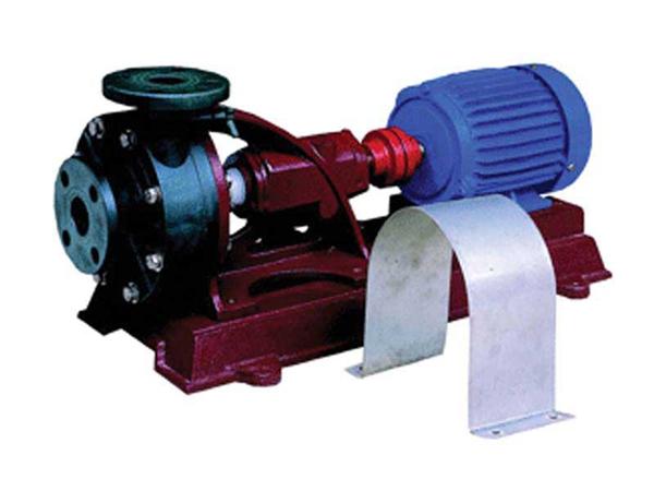 塑料连接式機械軸封泵-耐酸碱腐蚀防腐泵